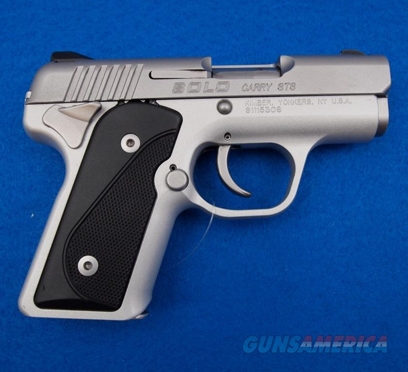 Kimber Solo Carry STS W/Case 9mm  Guns > Pistols > Kimber of America Pistols > Micro 9