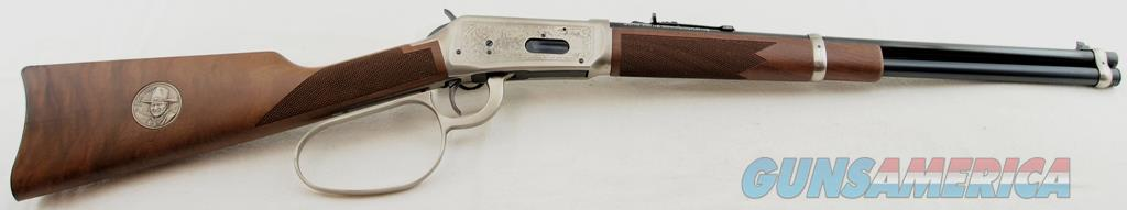Winchester, Model 94, John Wayne Commemorative, .32-40, With Scabbard, Box, Cartridges  Guns > Rifles > Winchester Rifles - Modern Lever > Model 94 > Post-64