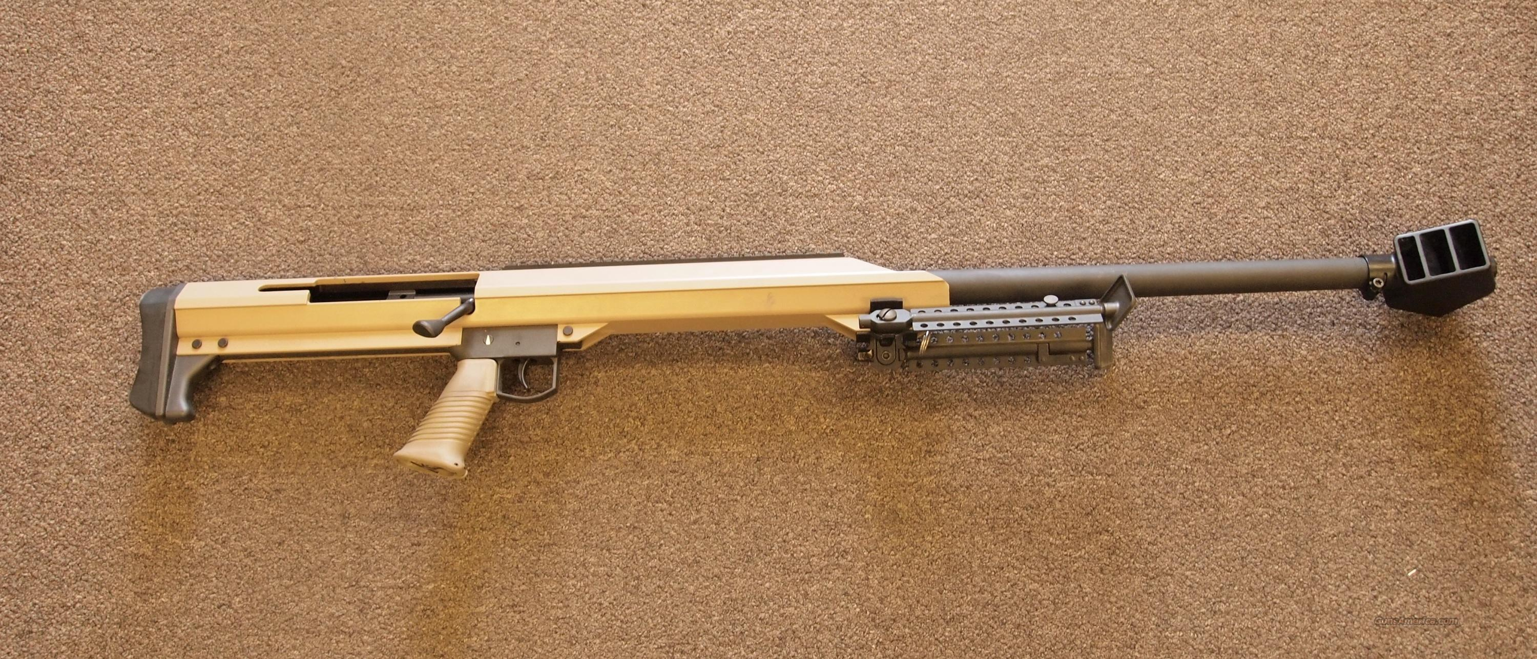 Barrett M99 .416 Barrett Tan  Guns > Rifles > Barrett Rifles