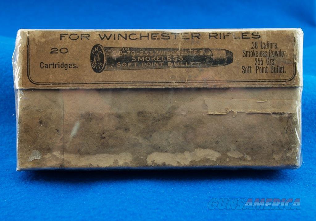 UMC Vintage Ammunition For Winchester .38-70-255 WBox  Non-Guns > Ammunition