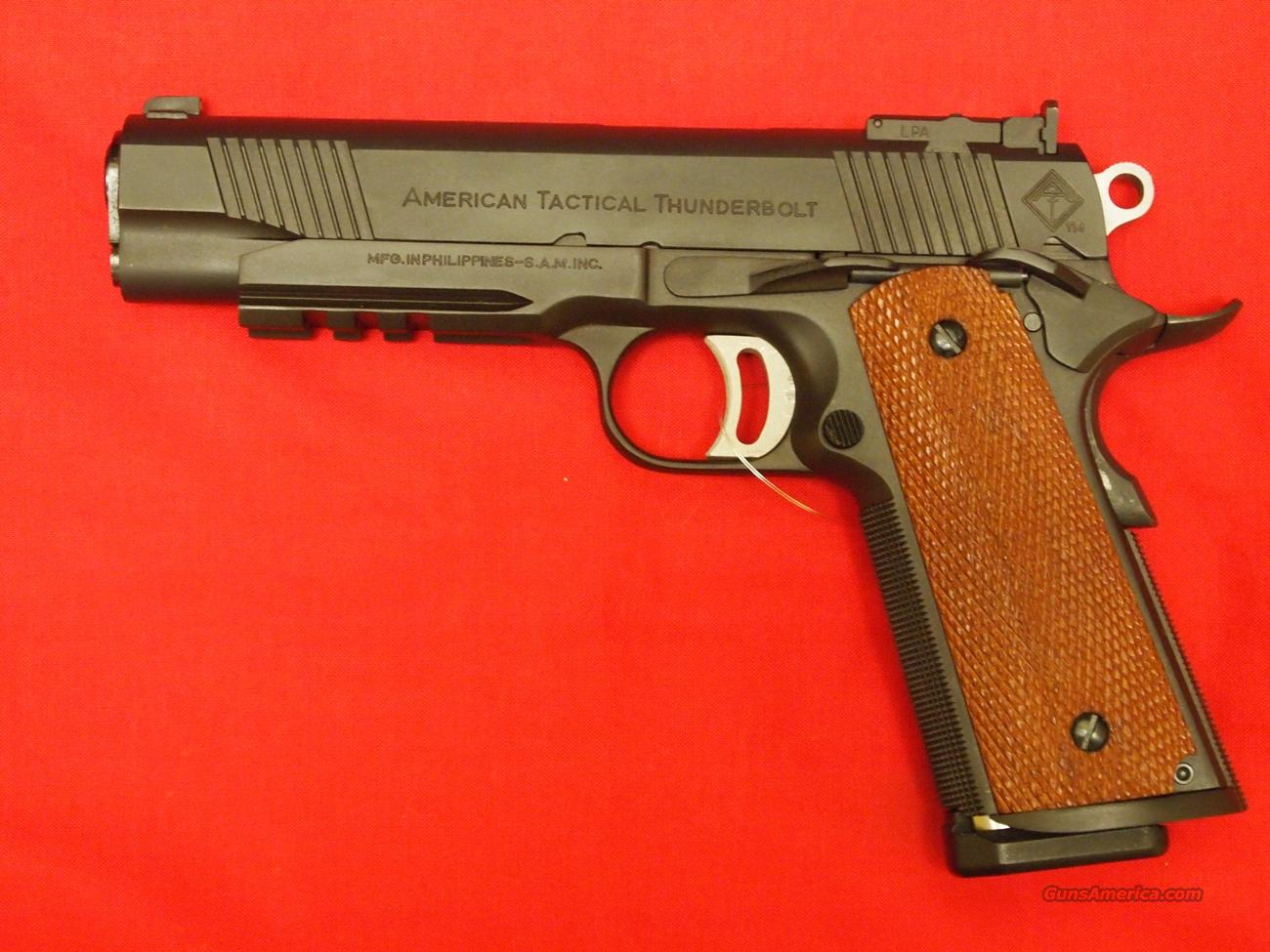 AM Tactical 1911 Thunderbolt .45ACP  Guns > Pistols > American Tactical Imports Pistols