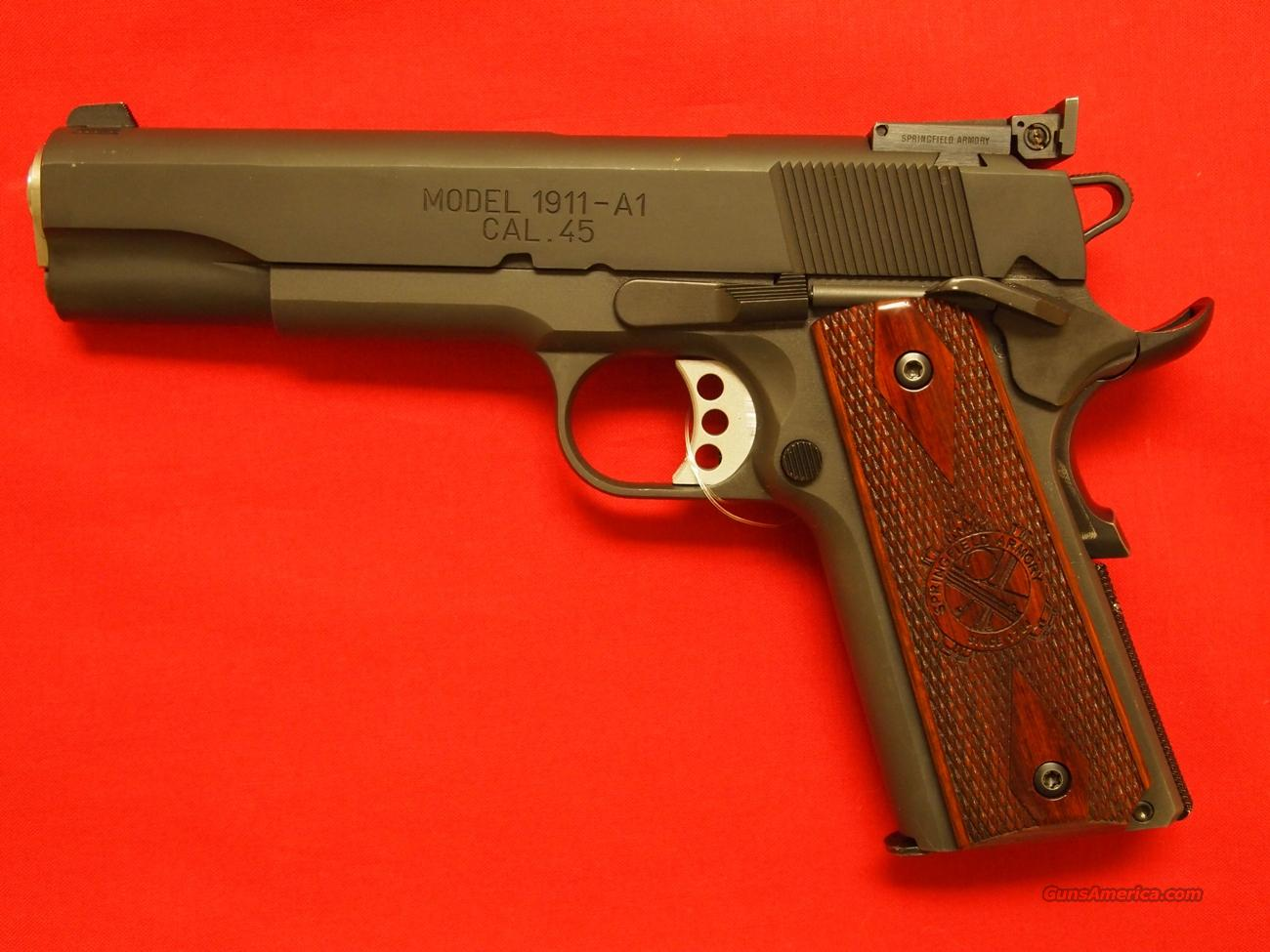 Springfield 1911 Range Officer 45 Acp For Sale