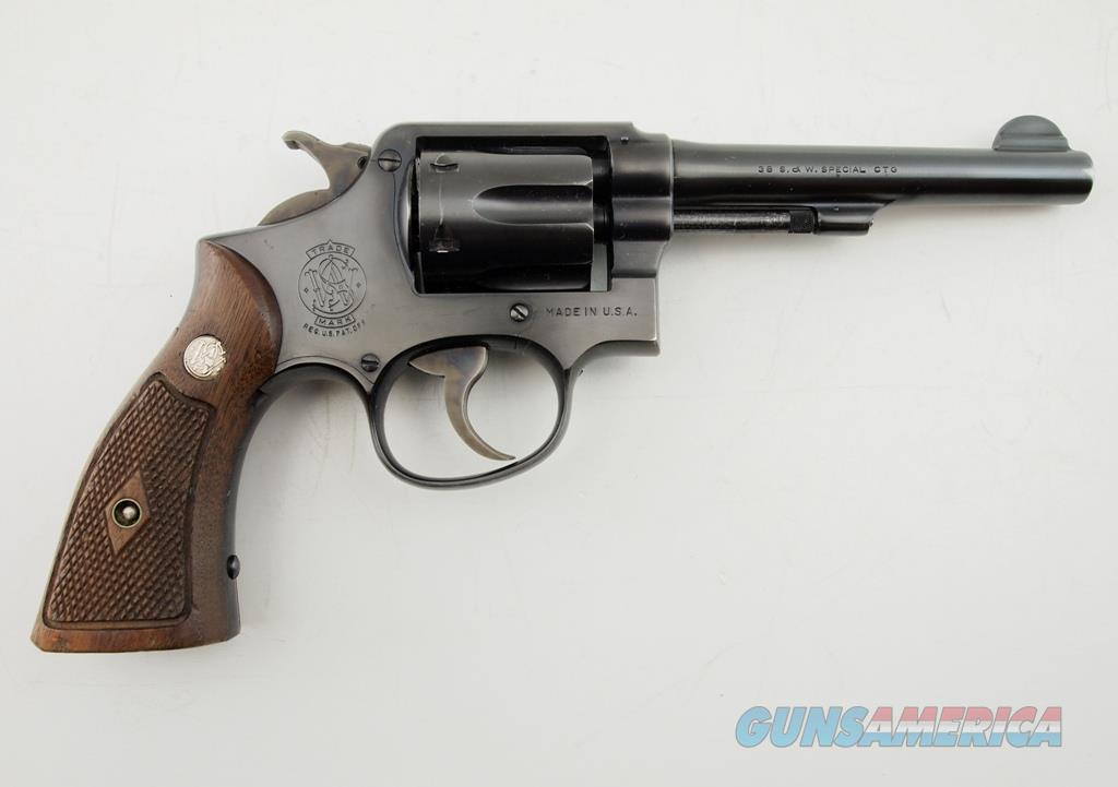 S&W M&P Post War Pre M-10 .38 SPL  Guns > Pistols > Smith & Wesson Revolvers > Med. Frame ( K/L )