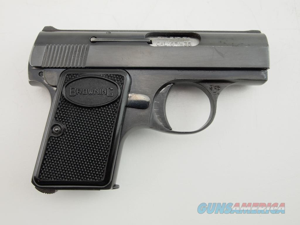 Browning Baby Made In Belgium .25 ACP  Guns > Pistols > Browning Pistols > Baby Browning