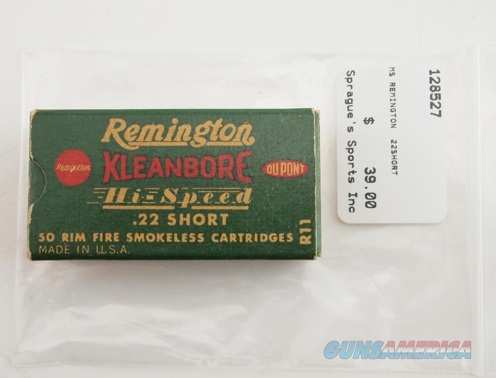 Remington Vintage Rimfire Cartriges .22 Short (R11) NIB  Non-Guns > Ammunition