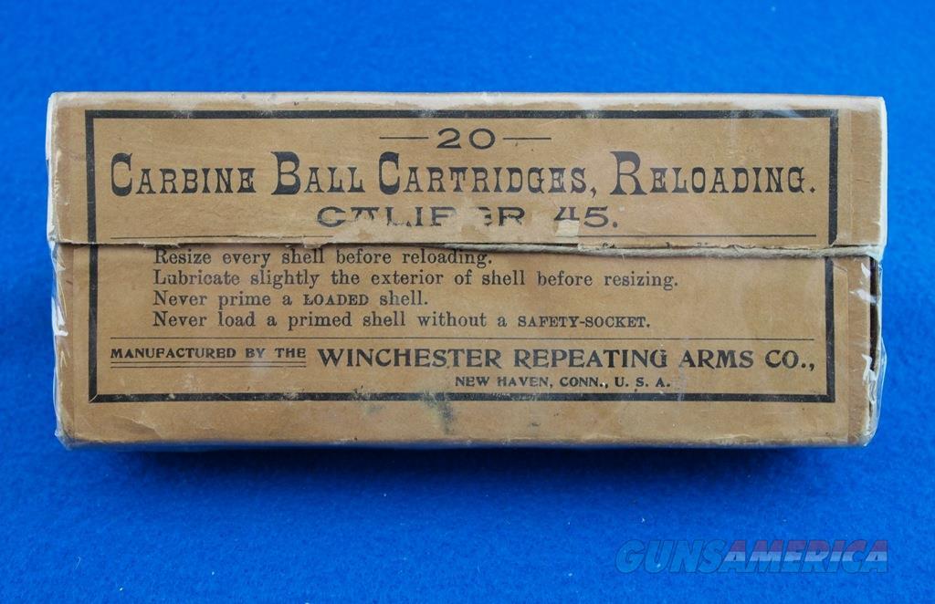 Winchester Vintage Ammunition .45 Carbine WBox  Non-Guns > Ammunition