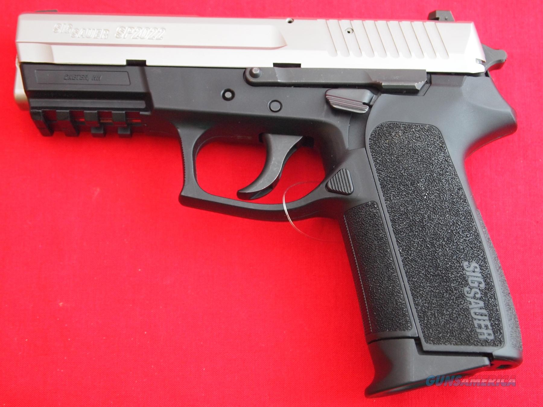 Sig Sauer SP2022 Two Tone D/A 9mm for sale