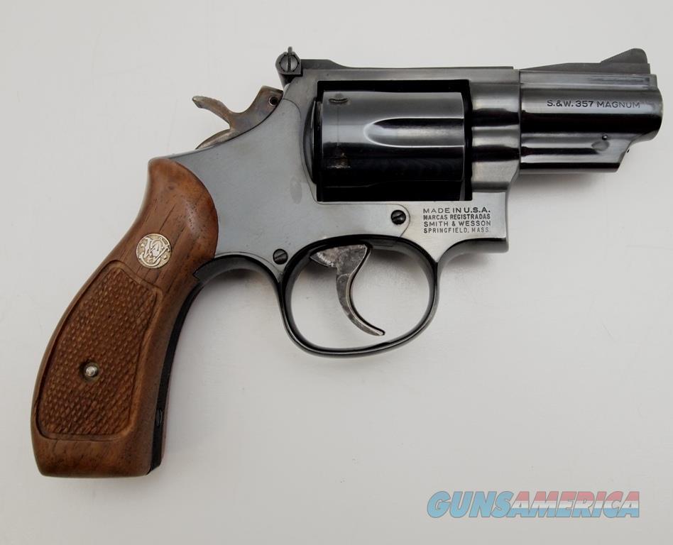 S&W 19-5 .357 MAG  Guns > Pistols > Smith & Wesson Revolvers > Med. Frame ( K/L )