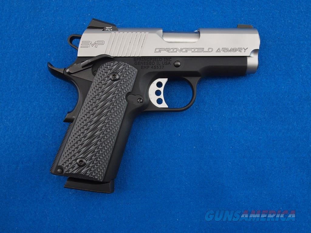 Springfield 1911 EMP 9X19 NIB  Guns > Pistols > Springfield Armory Pistols > 1911 Type