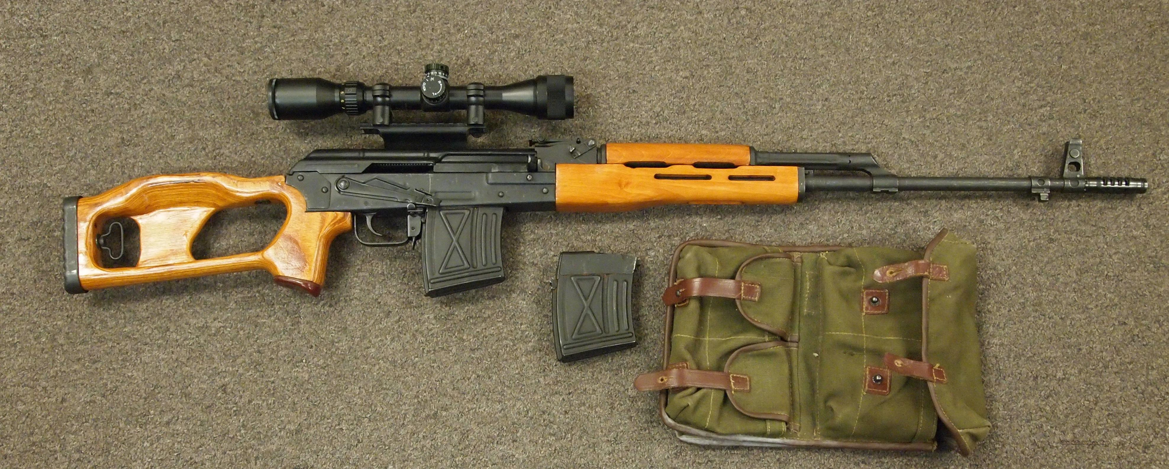 Romanian PSL-54C Dragunov 7.62X54R  Guns > Rifles > Century International Arms - Rifles > Rifles