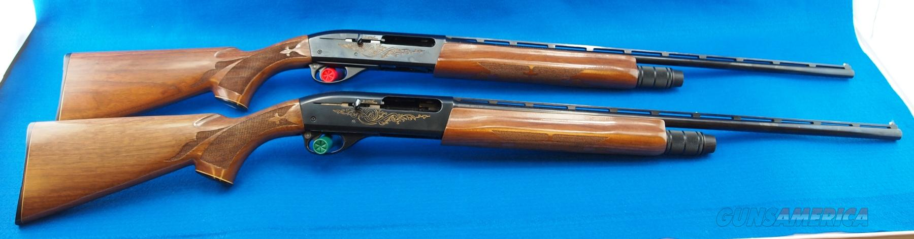 Remington 1100 Matched Pair Skeet set 28ga.& 410ga. #4020  Guns > Shotguns > Remington Shotguns  > Autoloaders > Trap/Skeet