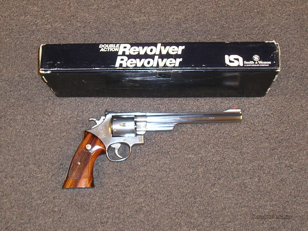 "S&W 657 8 3/8""  Guns > Pistols > Smith & Wesson Revolvers > Full Frame Revolver"