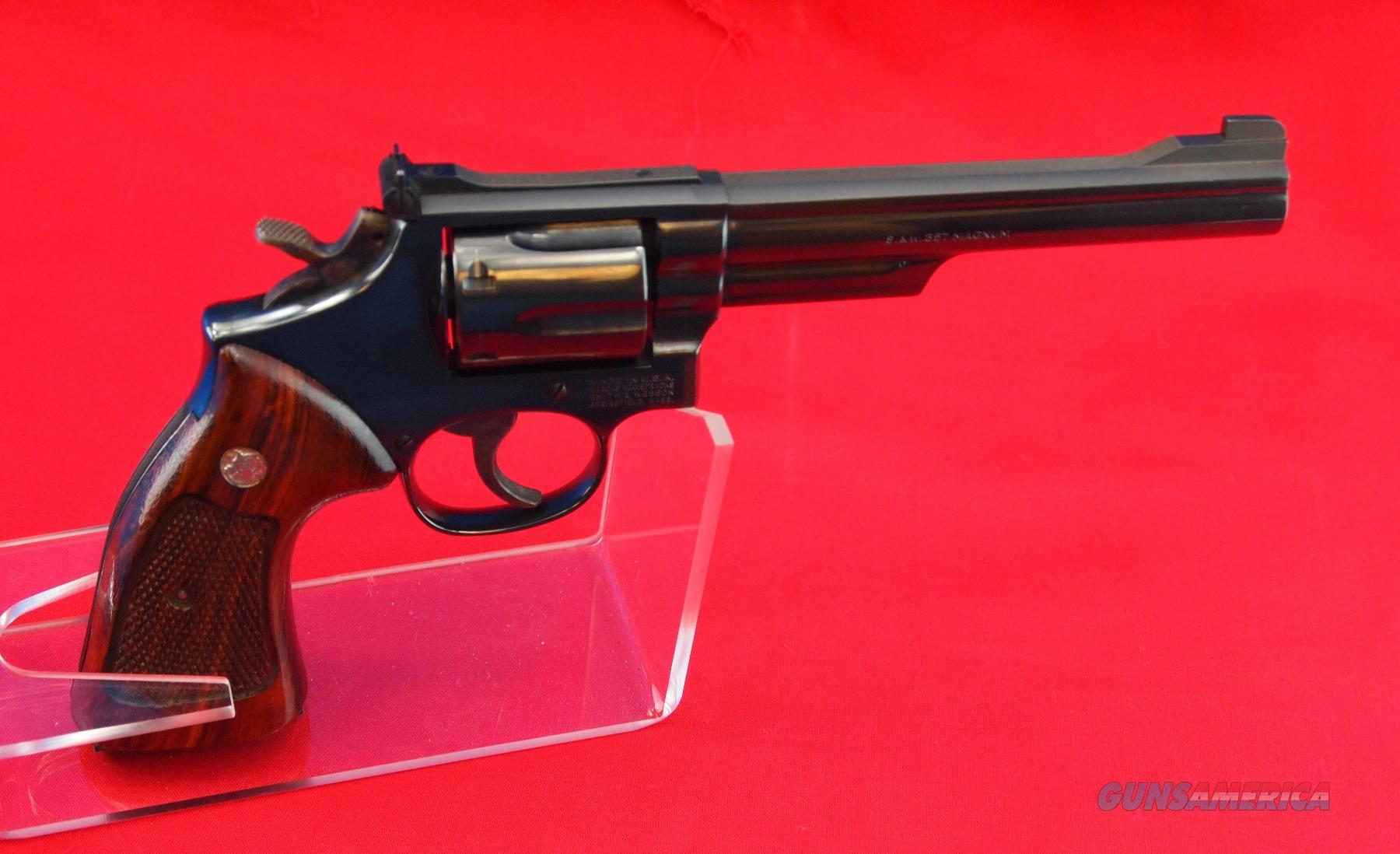 Smith and Wesson DA 19-5 .357 Magnum  Guns > Pistols > Smith & Wesson Revolvers > Full Frame Revolver