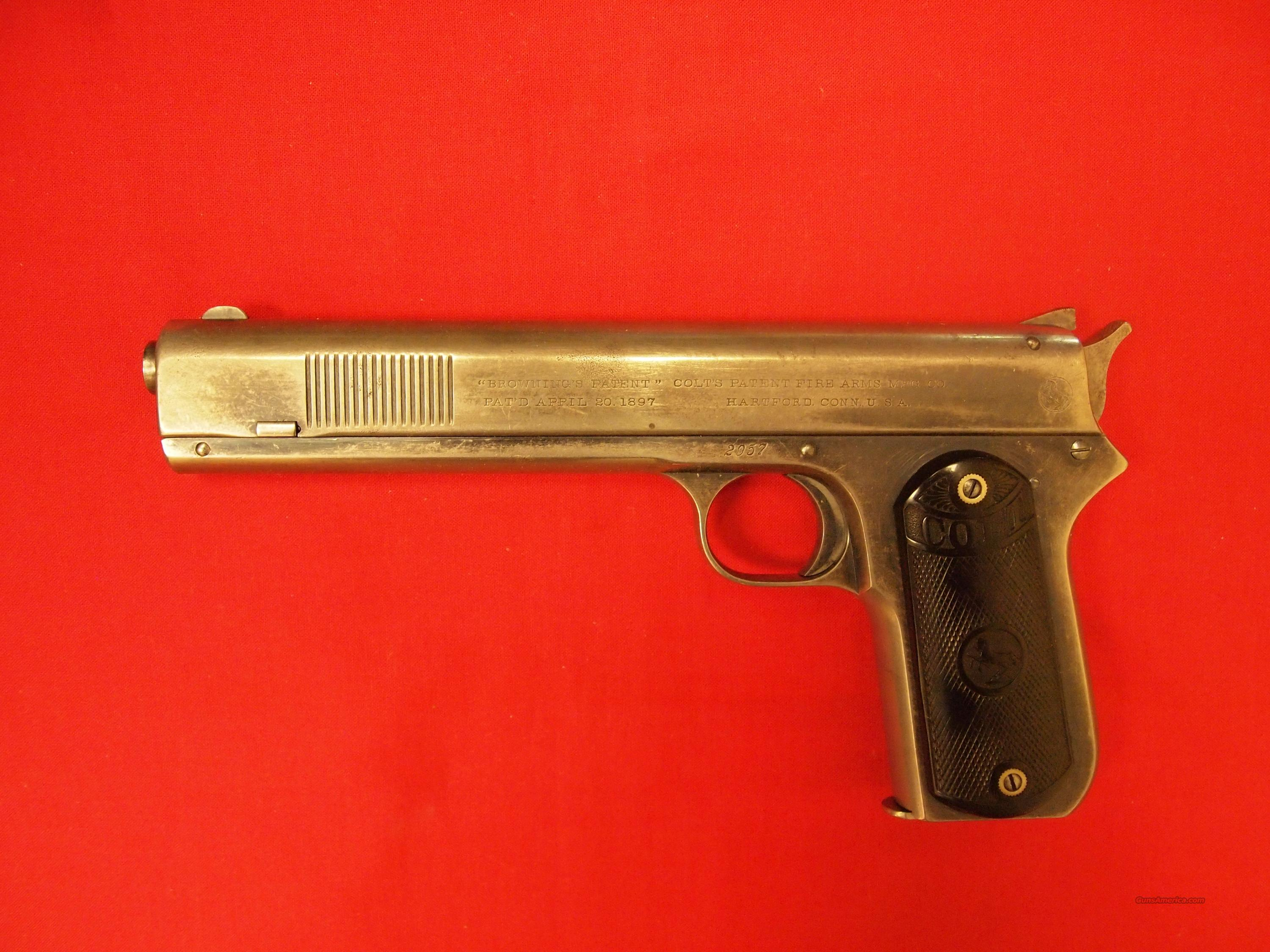 Colt 1900 Sight Safety 38 Rimless  Guns > Pistols > Colt Automatic Pistols (1911 & Var)