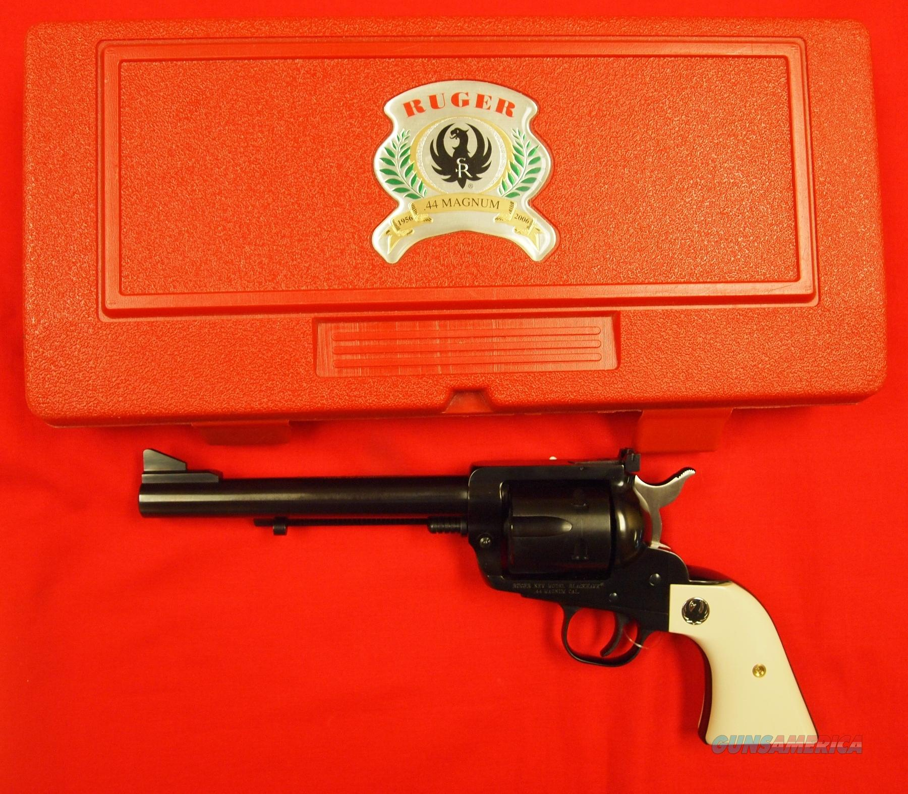 Ruger 50th Anniversary .44 Magnum New Model Blackhawk  Guns > Pistols > Ruger Single Action Revolvers > Blackhawk Type