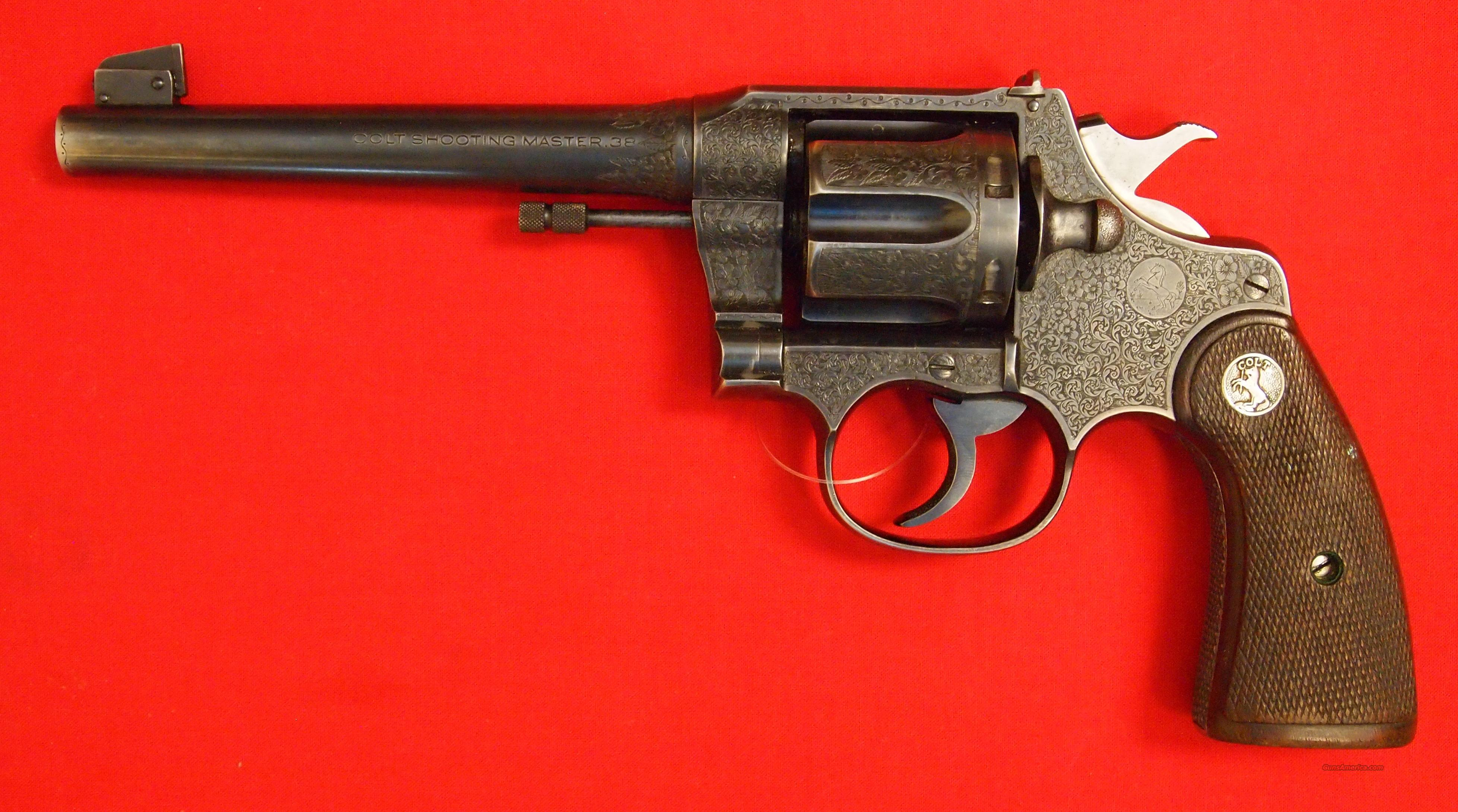 Colt Shooting Master .38 spl. (mfg. 1928)  Guns > Pistols > Colt Double Action Revolvers- Pre-1945