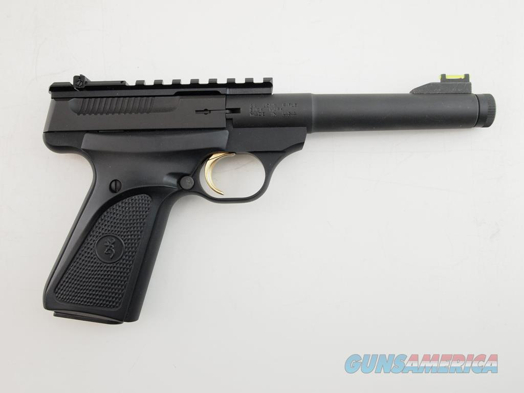 Browning BuckMark Threaded Barrel .22 LR  Guns > Pistols > Browning Pistols > Buckmark