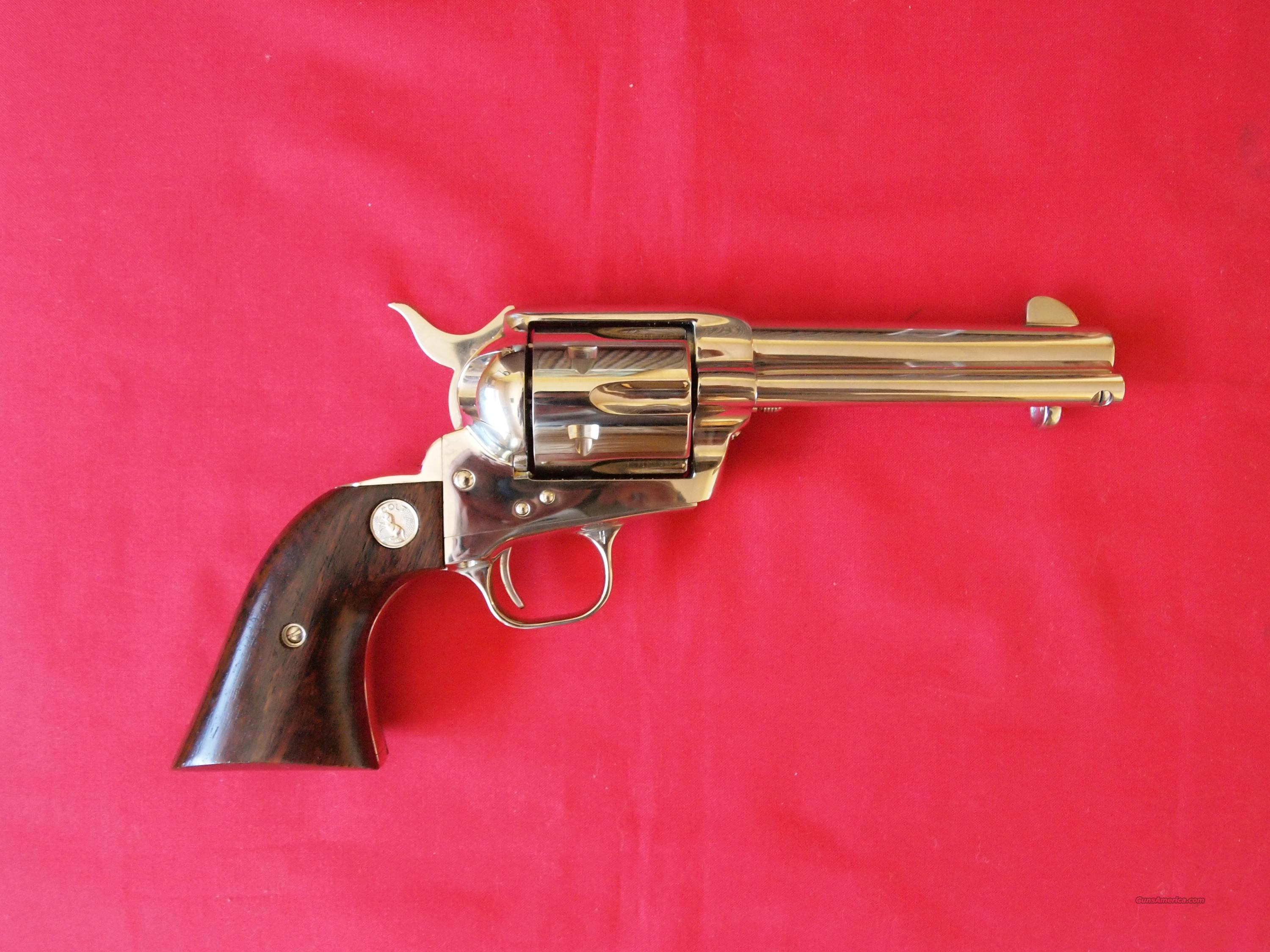 Colt Single Action Army 3rd Gen 45 Colt   Guns > Pistols > Colt Single Action Revolvers - 3rd Gen.