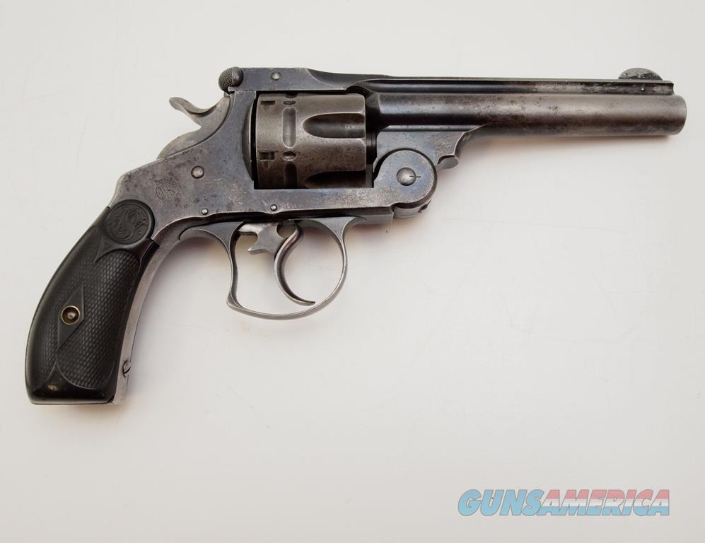 S&W 44 Double Action Frontier 1st Model MFG 1886-1913 .44 SPL  Guns > Pistols > Smith & Wesson Revolvers > Pre-1945