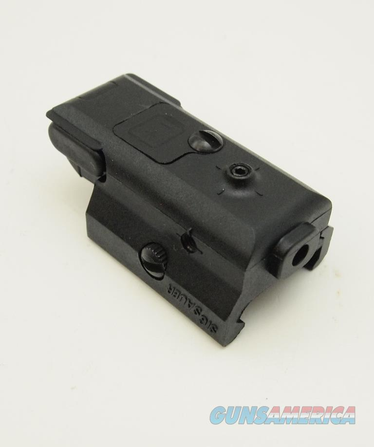 Sig Sauer Compact Pistol Rail Mount Red Laser For Sale