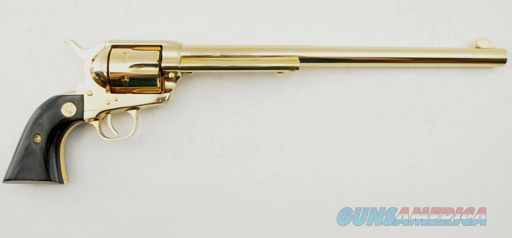 Colt SAA Wyatt Earp Buntline Special MFG 1964 .45 LC WCase  Guns > Pistols > Colt Commemorative Pistols