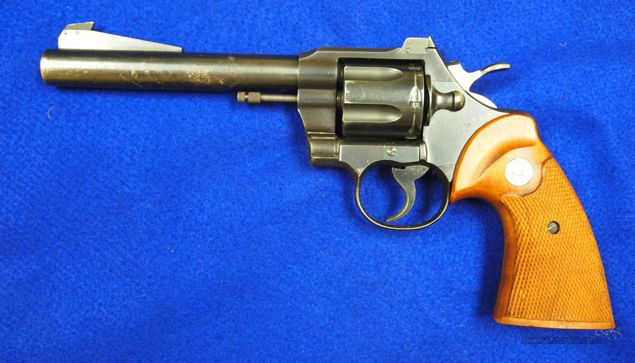 Colt Officers Model Special, Mfg. 1951  Guns > Pistols > Colt Double Action Revolvers- Modern