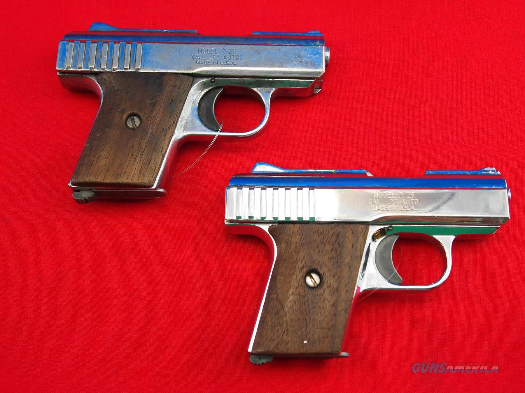 Raven Arms P-25 .25 Auto (Sold as a Pair),   Guns > Pistols > R Misc Pistols