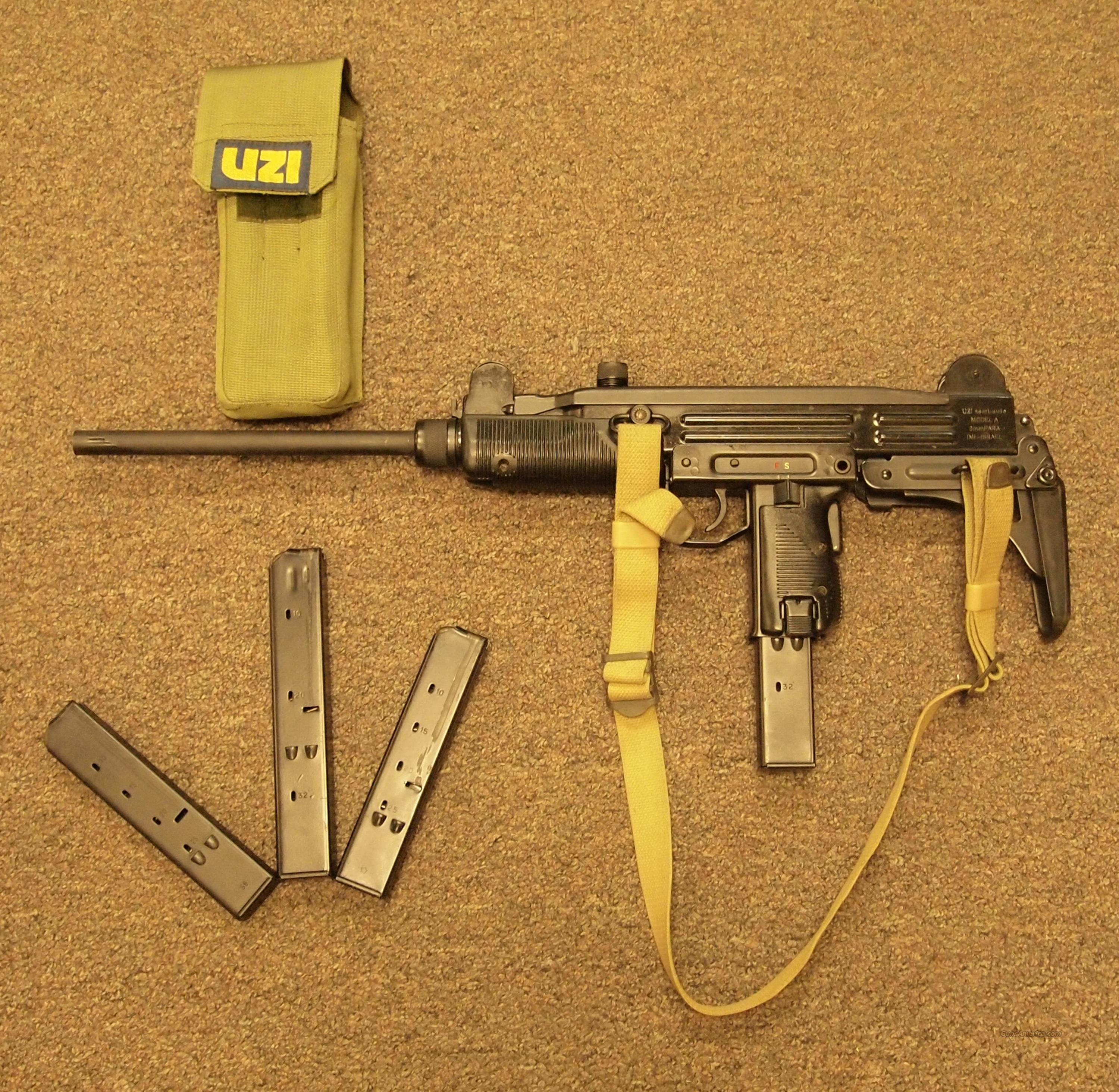 Action Arms Uzi Model A 9mm  Guns > Rifles > A Misc Rifles