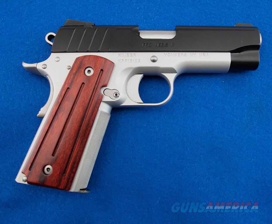 Kimber Pro Aegis II Custom Shop 9MM WBox  Guns > Pistols > Kimber of America Pistols > 1911
