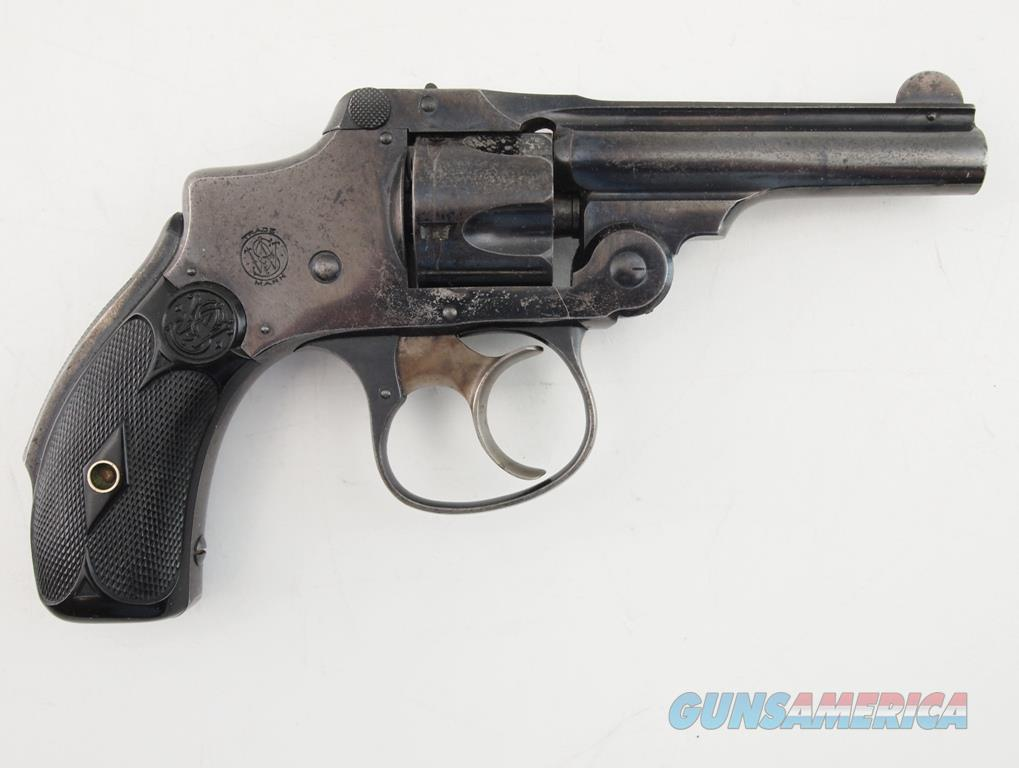 S&W 32 Safety Hammerless 2nd Model .32 S&W  Guns > Pistols > Smith & Wesson Revolvers > Pre-1945