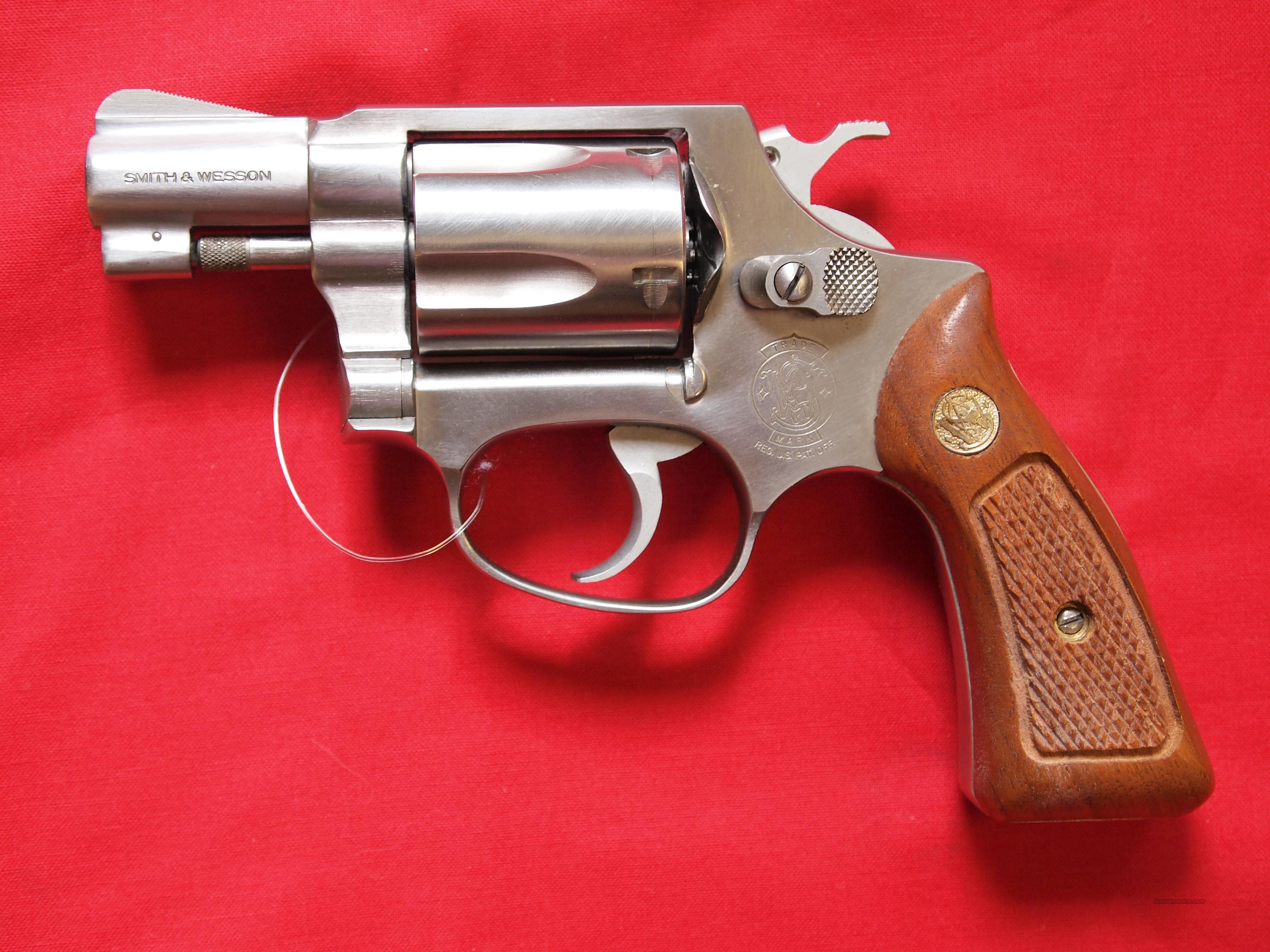 Smith & Wesson Model 60 .38 Special  Guns > Pistols > Smith & Wesson Revolvers > Pocket Pistols
