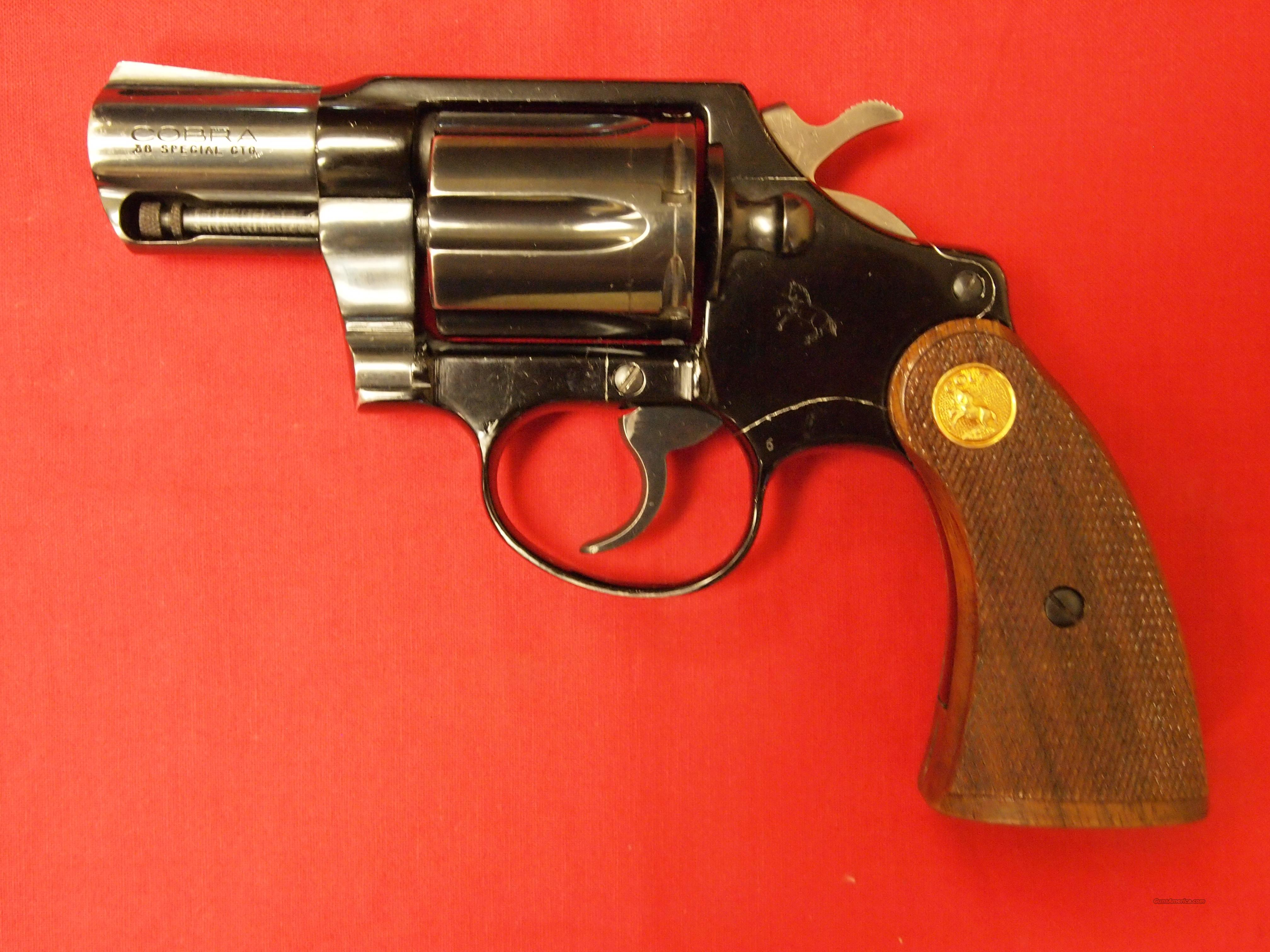 Colt Cobra 2nd Edition .38 Special  Guns > Pistols > Colt Double Action Revolvers- Modern