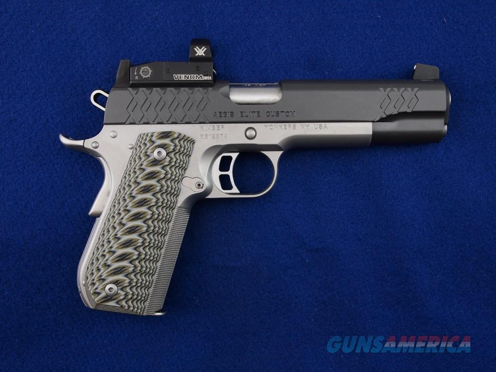Kimber Aegis Elite Custom .45 ACP WBox  Guns > Pistols > Kimber of America Pistols > 1911