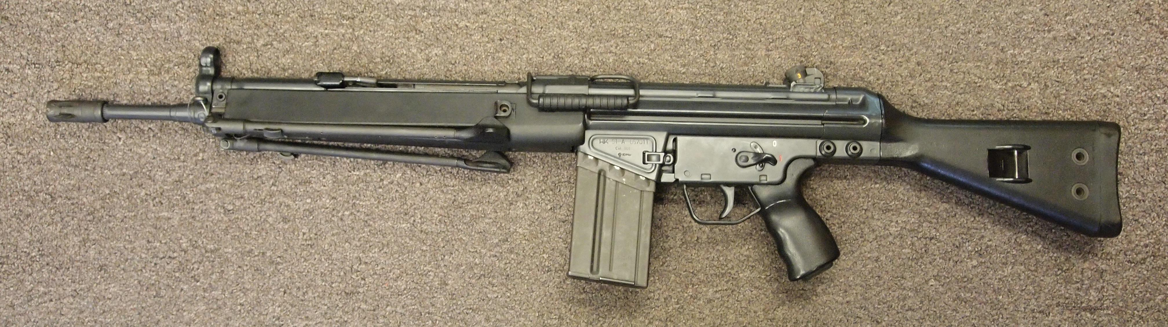 H&K 91 A2 .308  Guns > Rifles > Heckler & Koch Rifles > Tactical