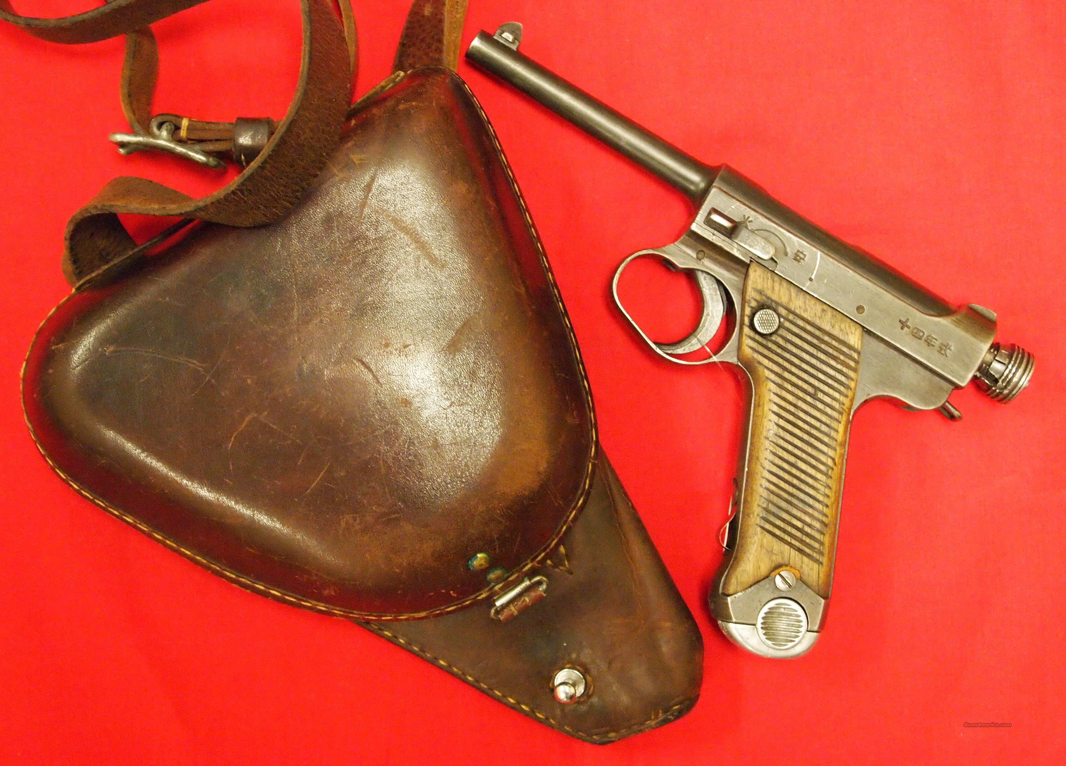 Japanese Nambu Type 14 8MM  Guns > Pistols > Military Misc. Pistols Non-US