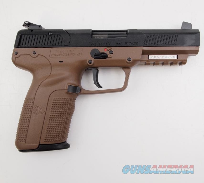 FNH Five Seven FDE 5.7X28 NIB  Guns > Pistols > FNH - Fabrique Nationale (FN) Pistols > FiveSeven