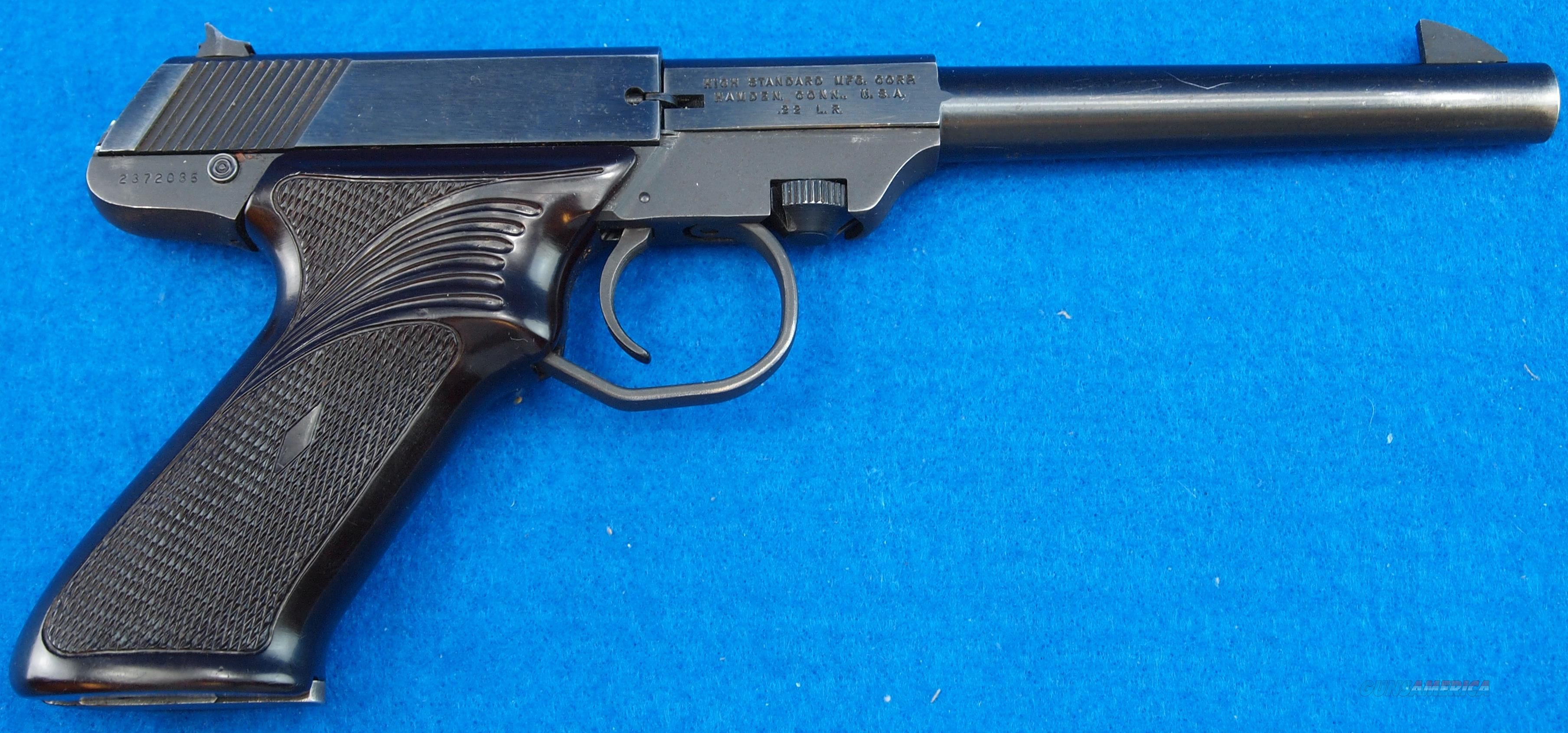 "HIGH STANDARD M-101 DURA-MATIC ""THE PLINKER"" .22LR  Guns > Pistols > High Standard Pistols"