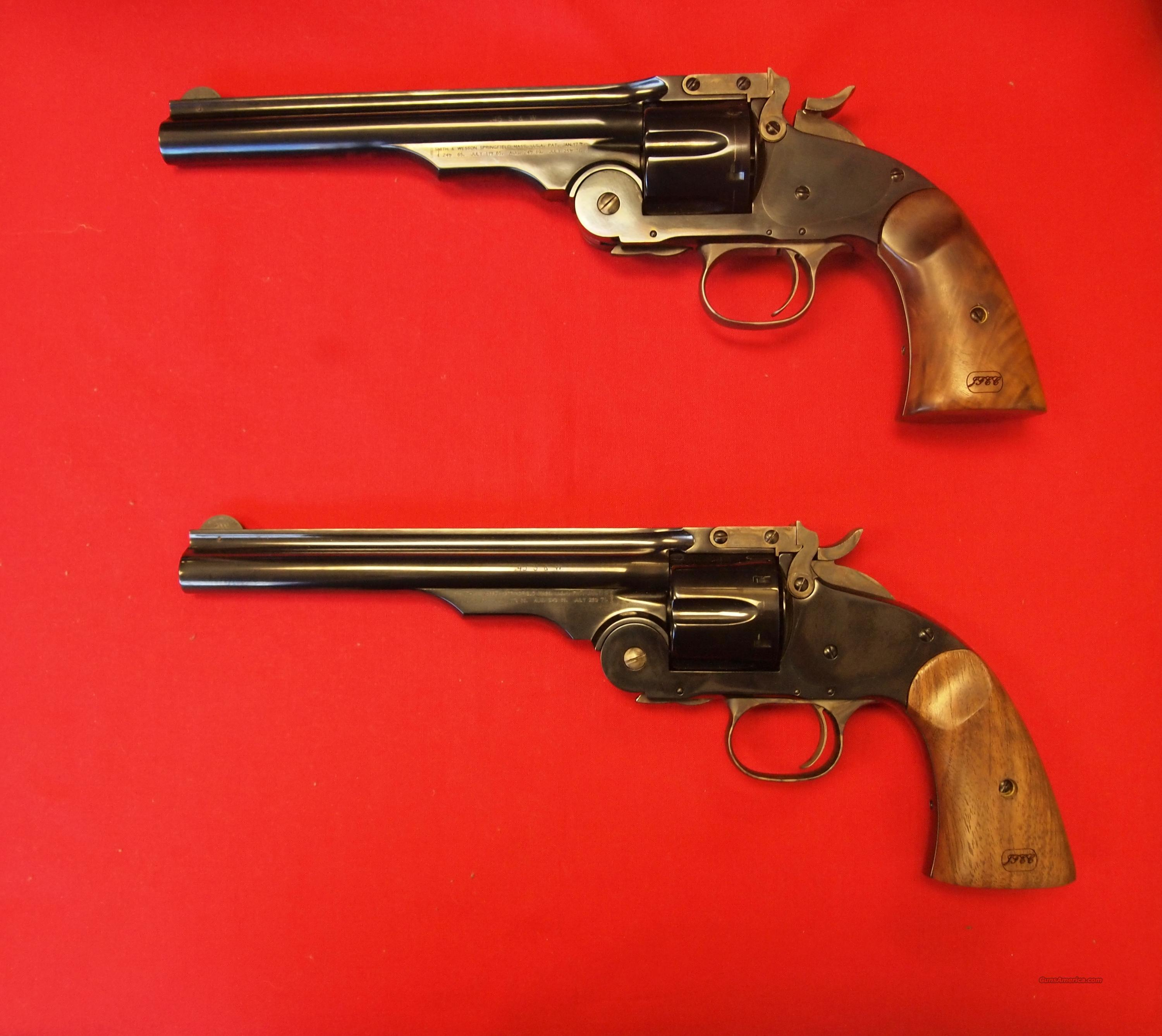 2 (Set) S&W Schofield Model 2000 .45 Schofield  Guns > Pistols > Smith & Wesson Revolvers > Full Frame Revolver