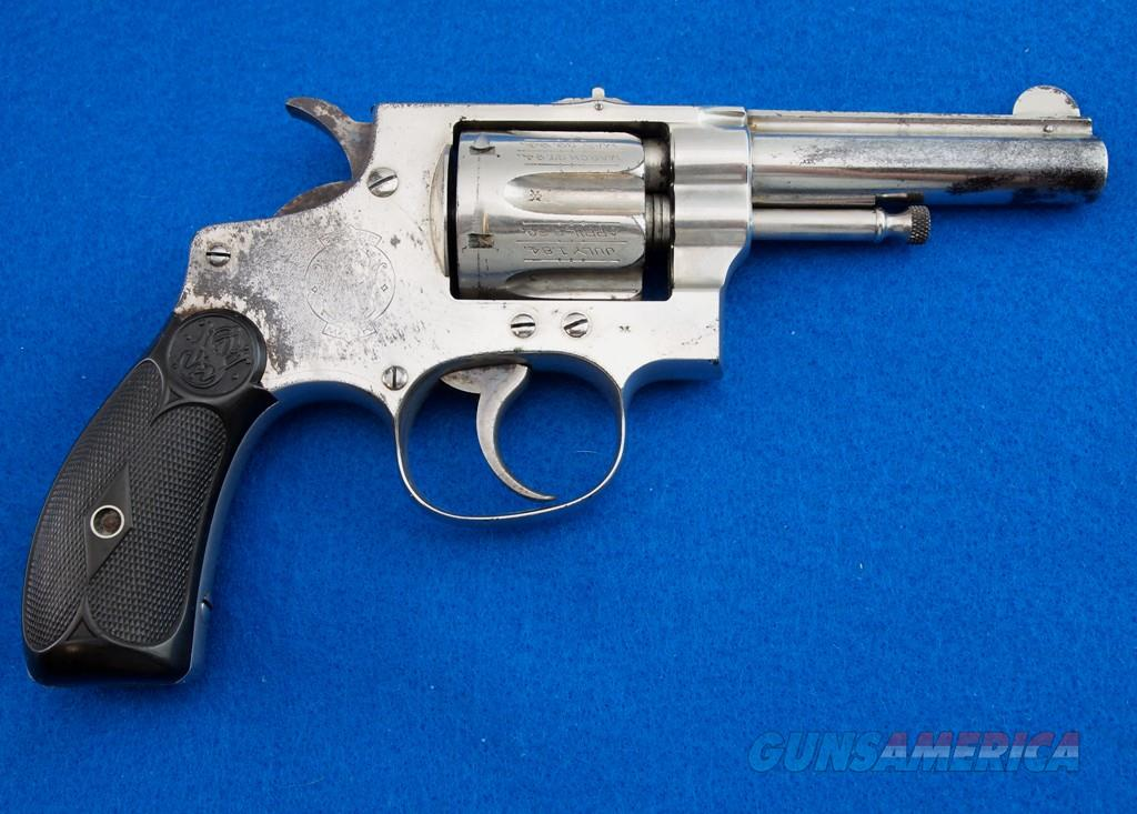 S&W 1896 Handejector MFG 1897 - 1903 .32 SPL  Guns > Pistols > Smith & Wesson Revolvers > Pre-1899