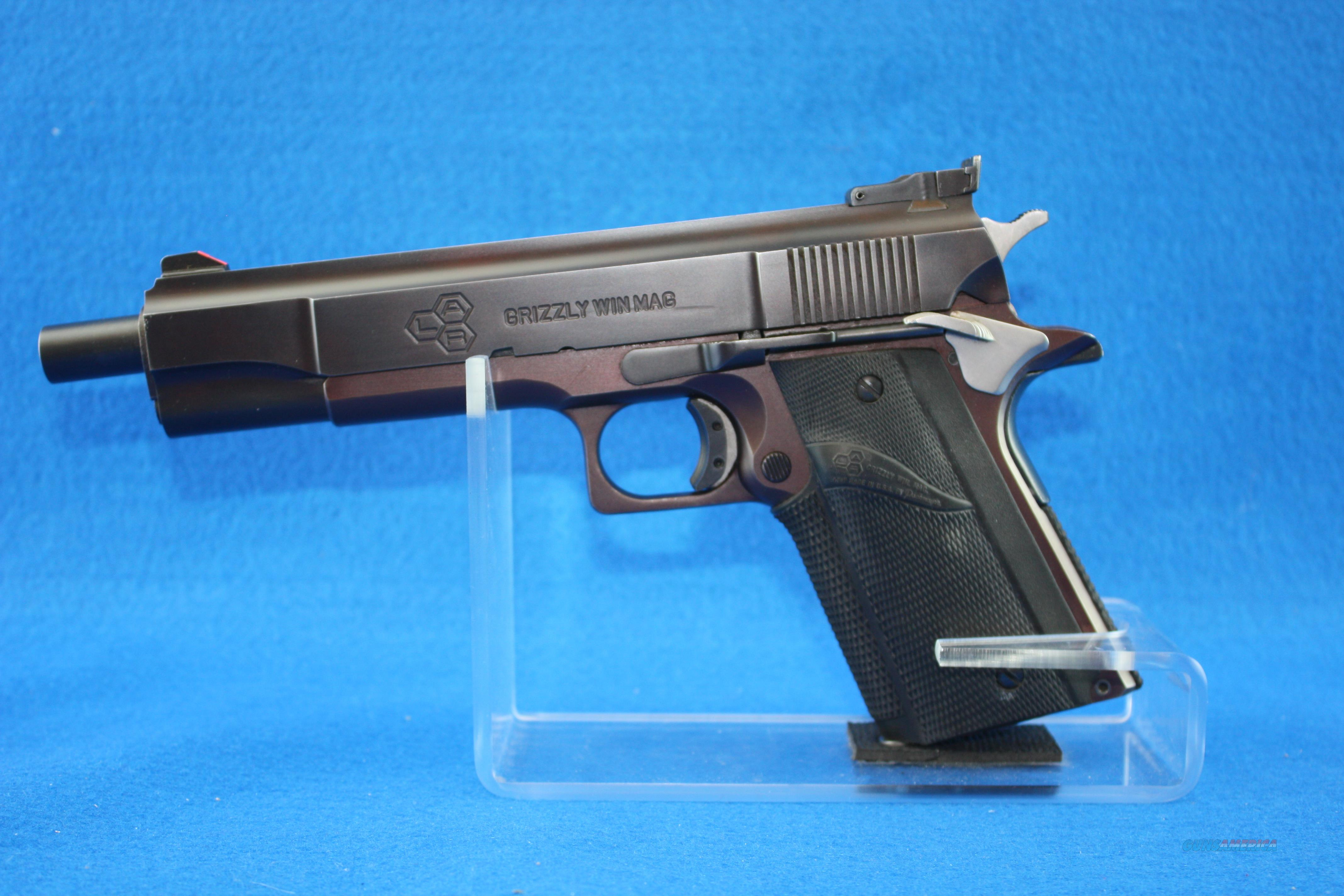 L.A.R. Grizzly MkI  Guns > Pistols > LAR/Grizzly Mfg. Co. Pistols