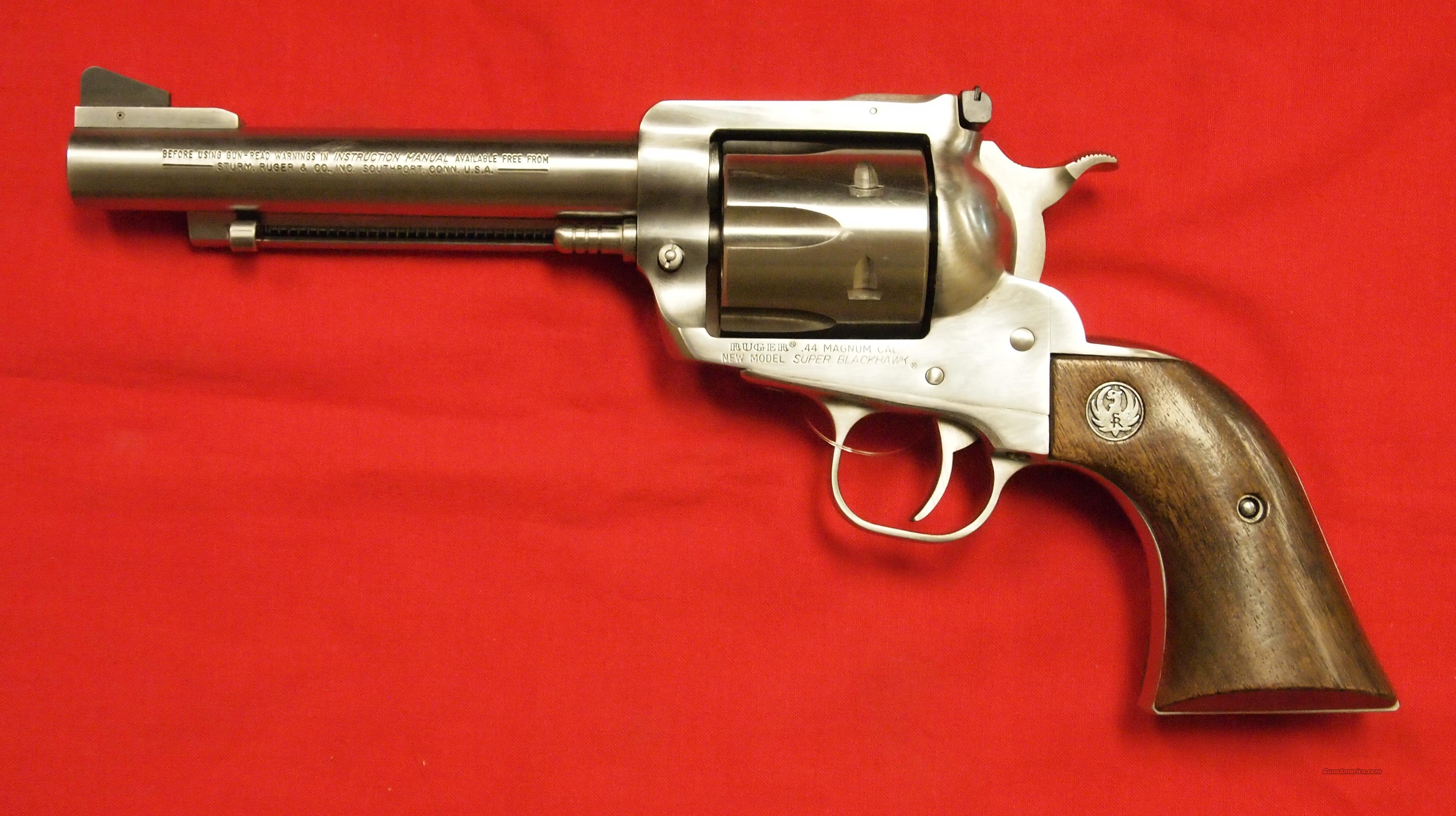Ruger Super Blackhawk SA/NM .44 Magnum  Guns > Pistols > Ruger Single Action Revolvers > Single Six Type
