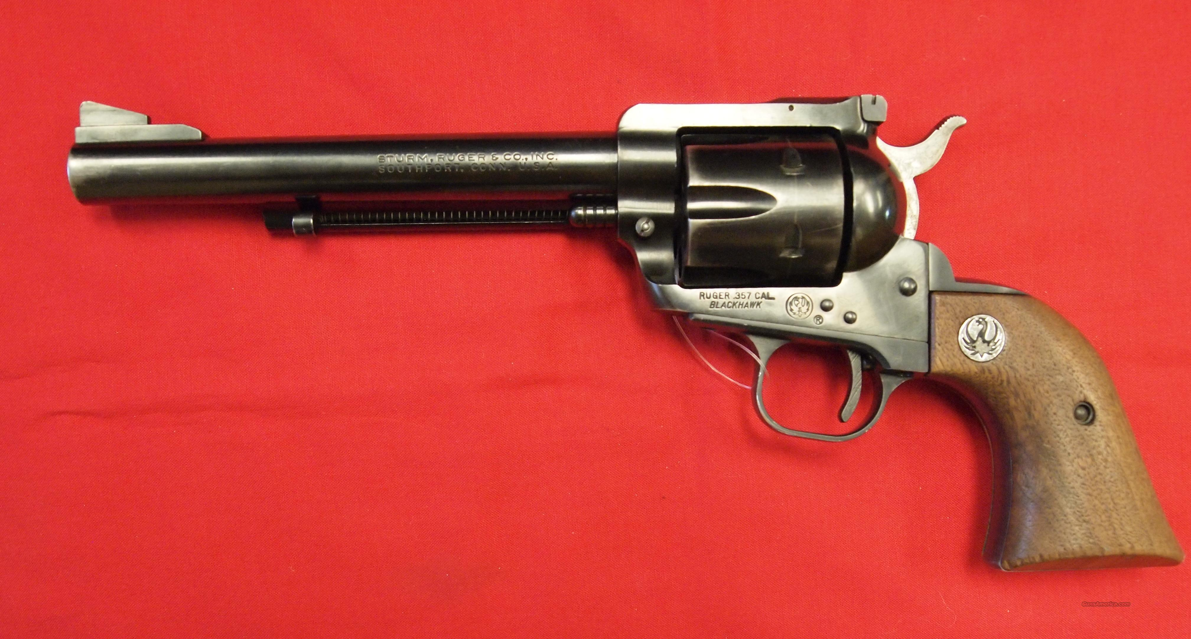 Ruger Blackhawk 3-Screw .357 MAG  Guns > Pistols > Ruger Single Action Revolvers > Blackhawk Type