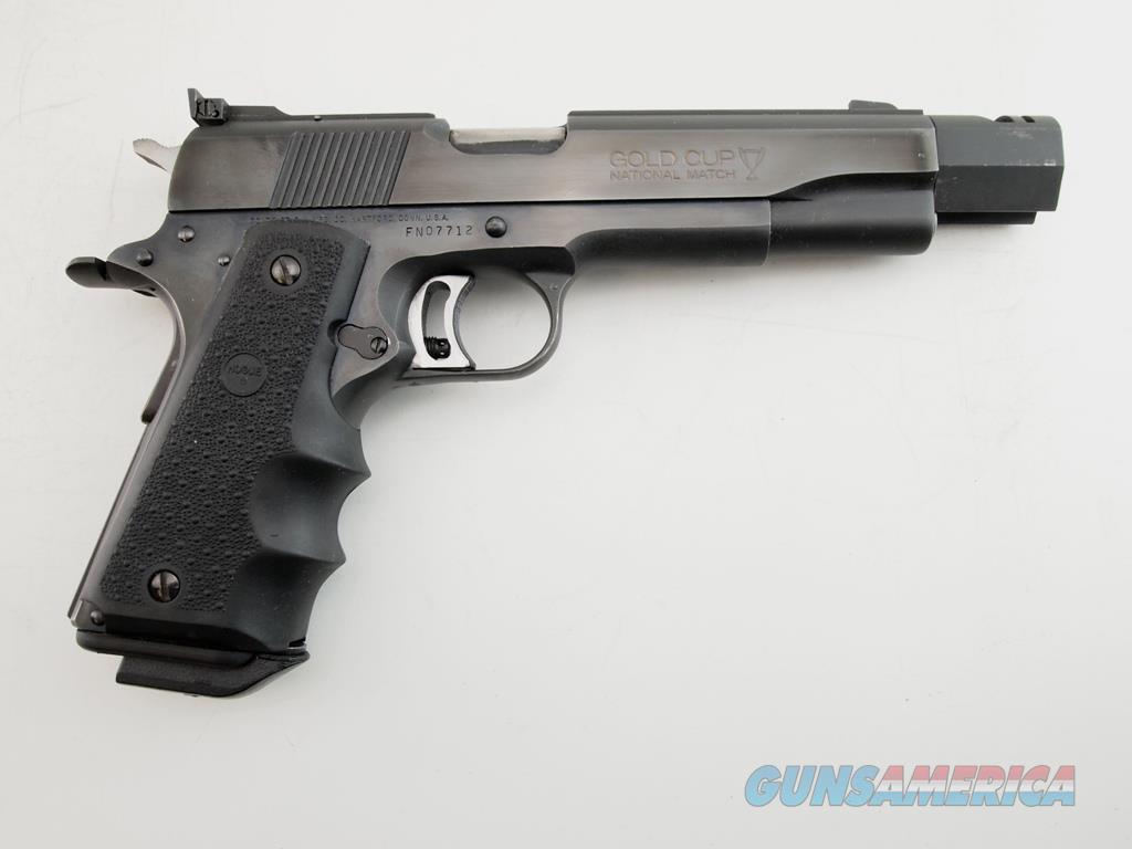 Colt Gold Cup National Match Custom Comp .45 ACP  Guns > Pistols > Colt Automatic Pistols (1911 & Var)