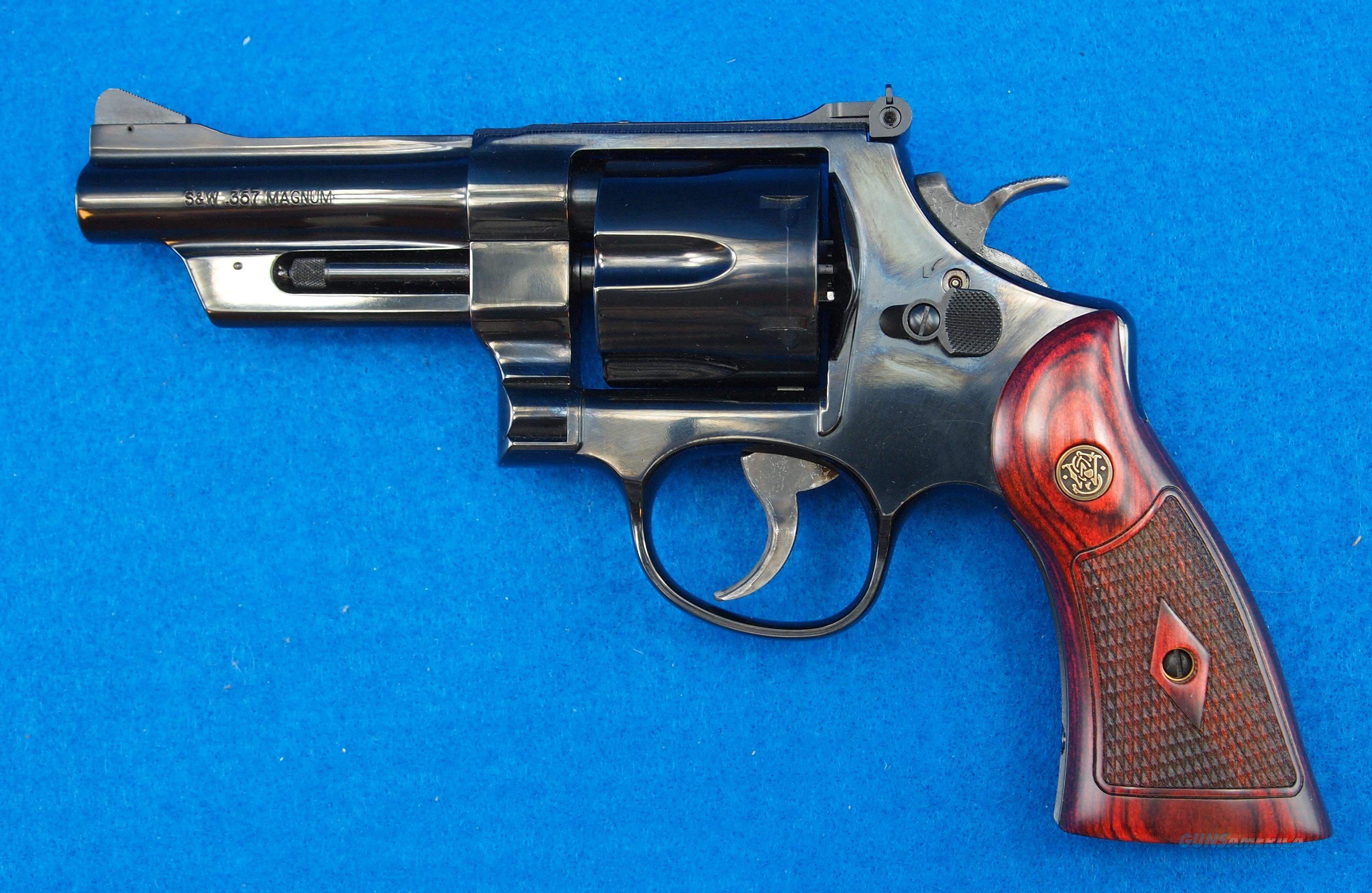 SMITH AND WESSON MODEL 27-9 .357 MAGNUM REVOLVER  Guns > Pistols > Smith & Wesson Revolvers > Full Frame Revolver