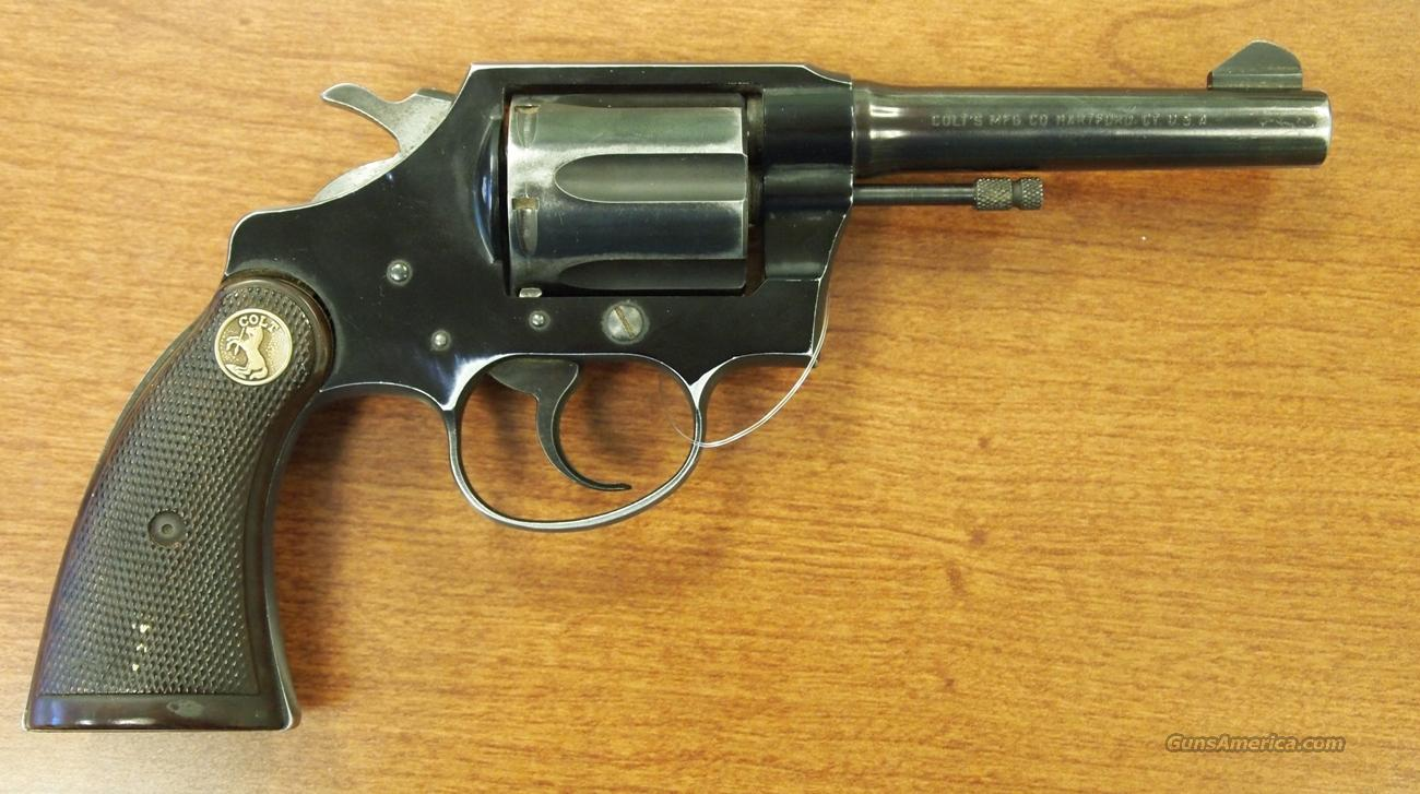 Colt Cobra 1st Issue .38 Special  Guns > Pistols > Colt Double Action Revolvers- Modern