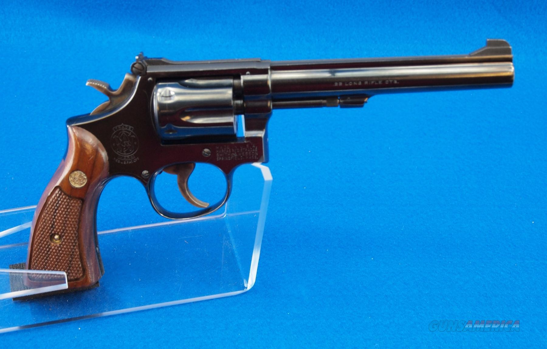 Smith & Wesson model 17-3 .22LR  Guns > Pistols > Smith & Wesson Revolvers > Full Frame Revolver