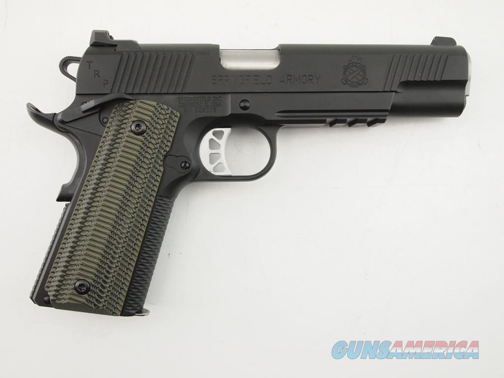 Springfield 1911 TRP 10 MM NIB  Guns > Pistols > Springfield Armory Pistols > 1911 Type