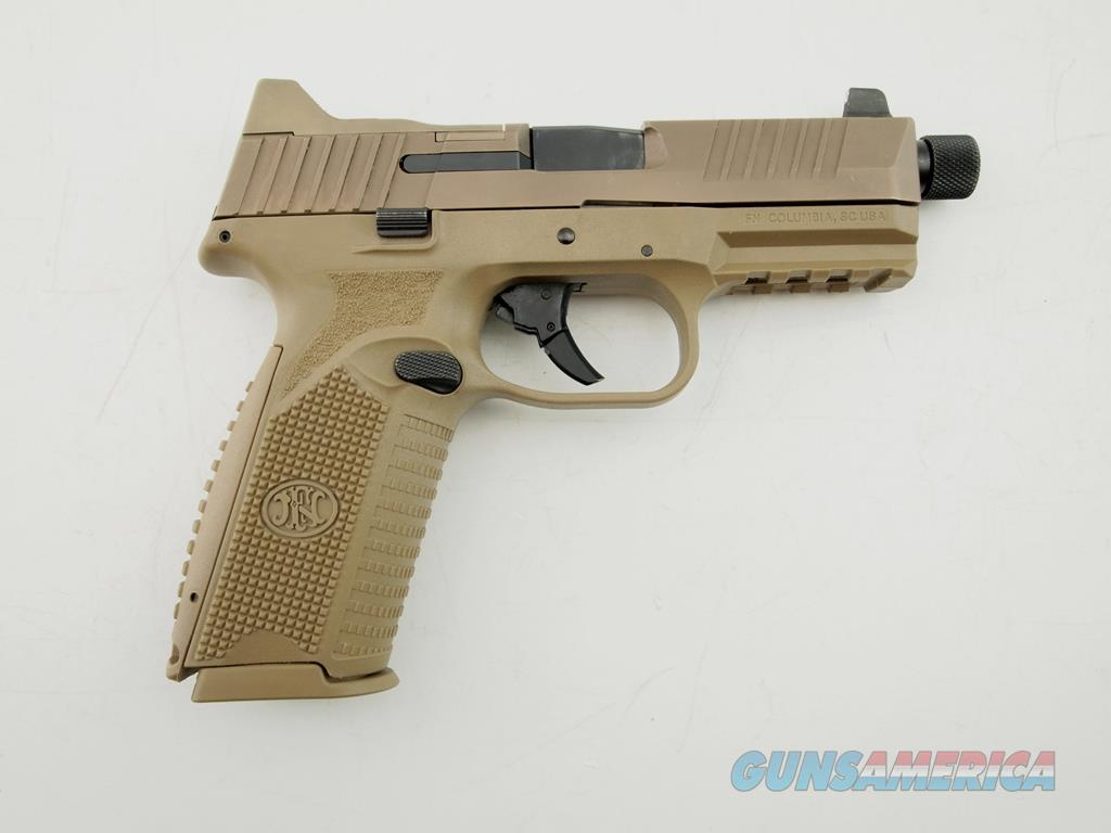 FNH FN 509 TACT NS TB FDE 9MM WCase  Guns > Pistols > FNH - Fabrique Nationale (FN) Pistols > FN 509
