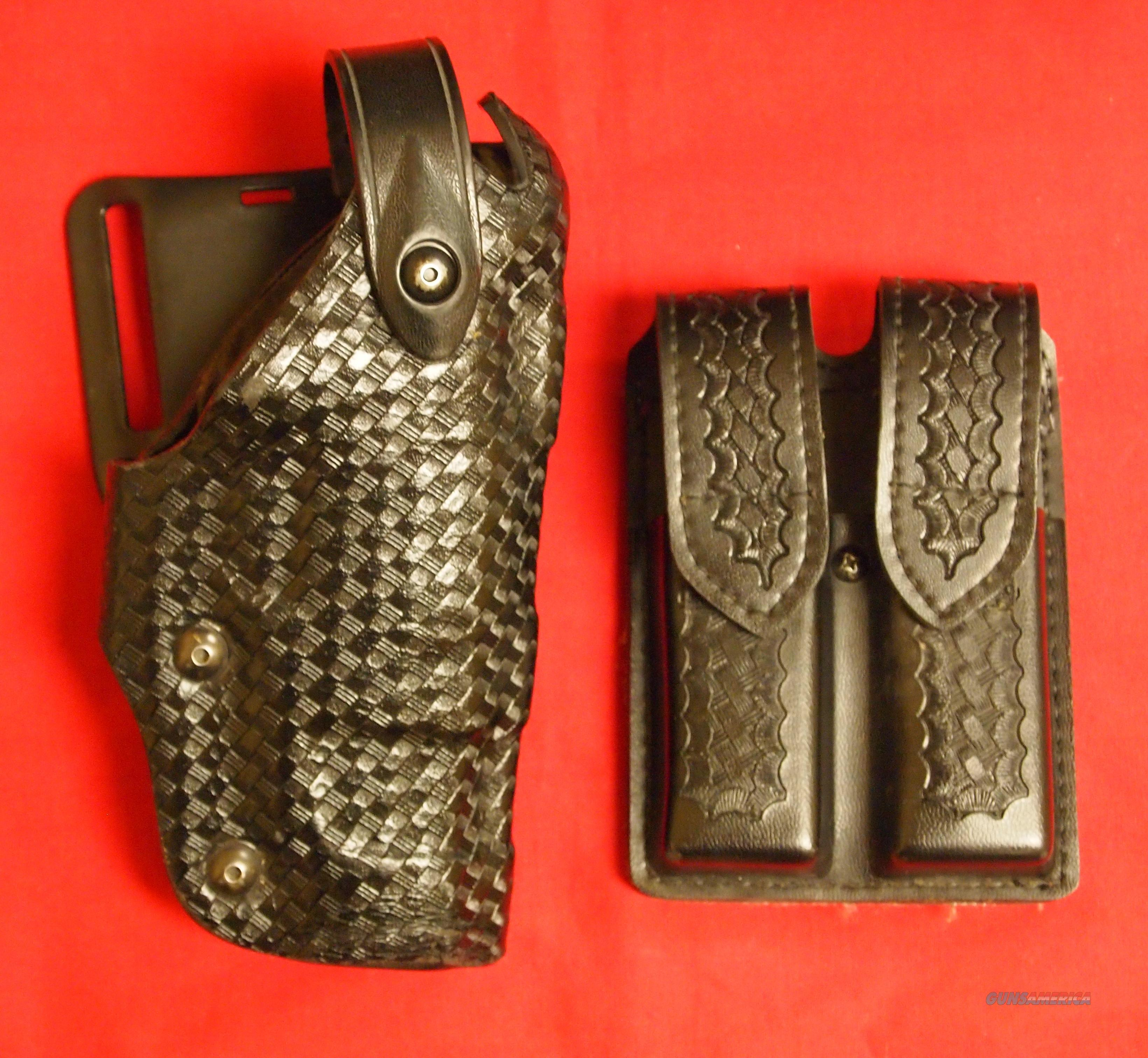 Safariland Level III Mid Ride Rentention Duty Holster  Non-Guns > Holsters and Gunleather > Large Frame Auto