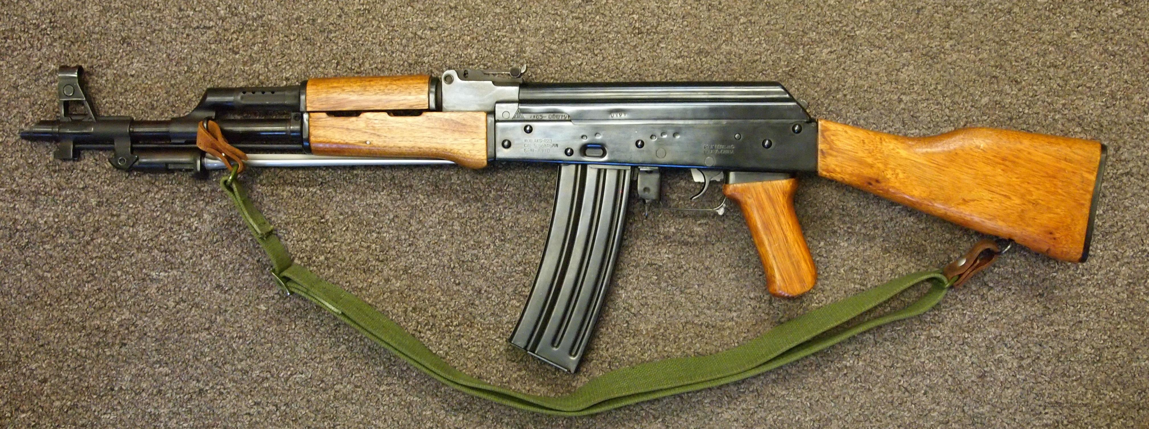 Poly Tech AKS-223 5.56 Pre-Ban  Guns > Rifles > AK-47 Rifles (and copies) > Full Stock